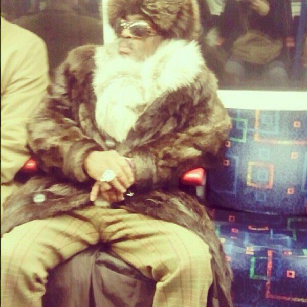 London Underground Is Full of Crazies