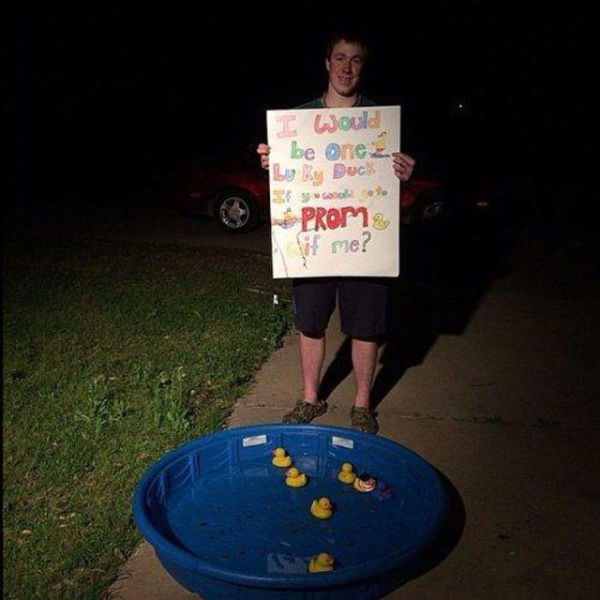 Prom Proposals That Are Hard To Say No To (24 Pics