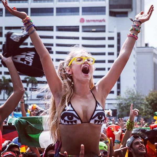 Girls of 2014's Ultra Music Festival