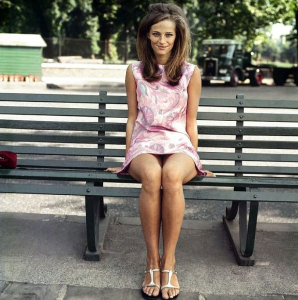Charlotte Rampling Past and Present