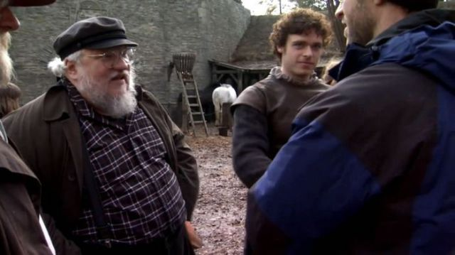 "On Set with Cast and Crew of ""Game of Thrones"""