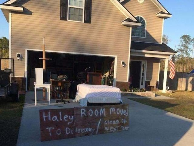 One Dad's Clever Punishment for Daughter's Messy Room