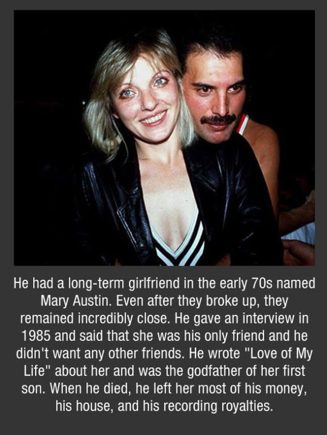 A Few Facts about Freddie Mercury