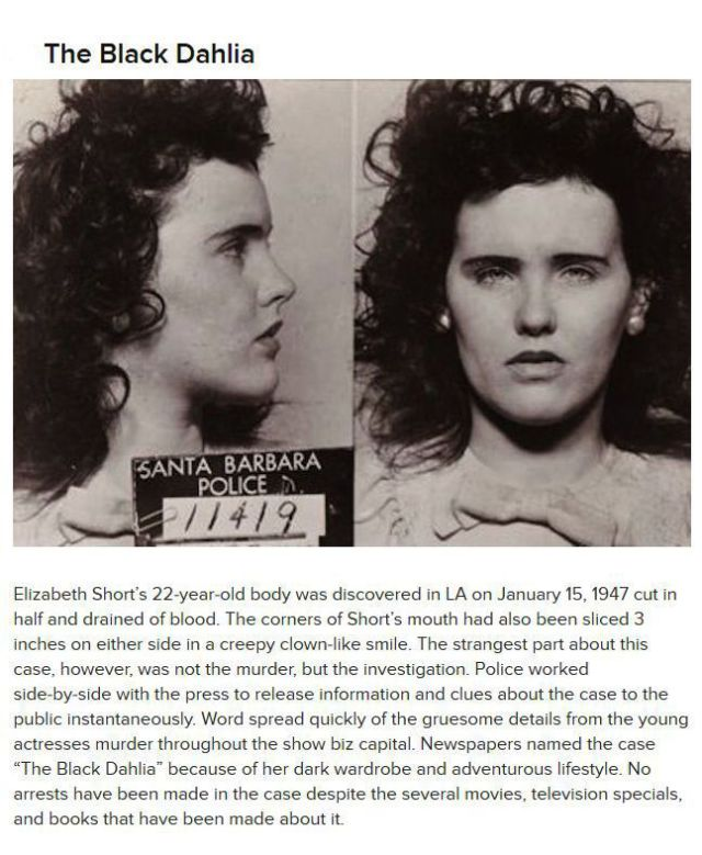 Hair-Tingling Crimes That Are Still Unsolved