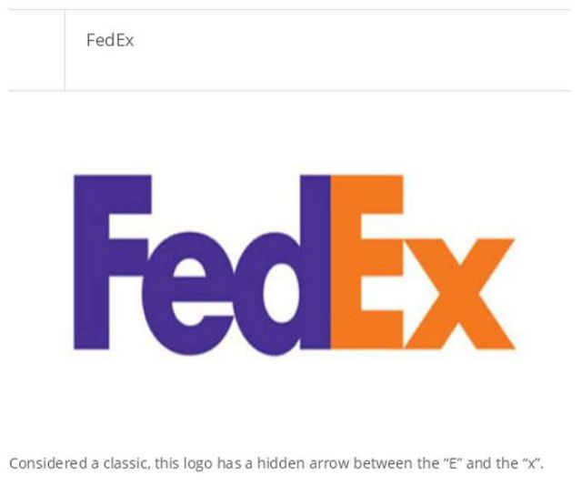 Well-Known Logos That Contain Secret Messages