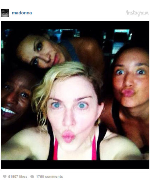 Celebs Post Fuss-Free Pics of Themselves without Makeup