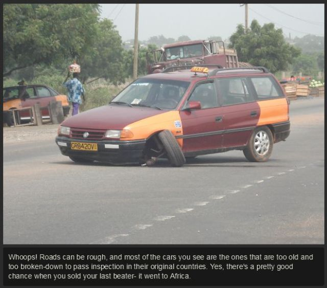 The Reality of West African Roads and Cars