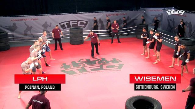 Insane 5-on-5 MMA Team Fight - Poland vs Sweden