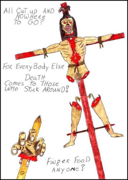 The Disturbing Artwork of Serial Killers