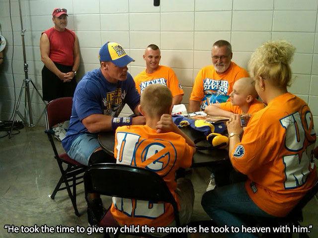 John Cena Has a Heart of Gold