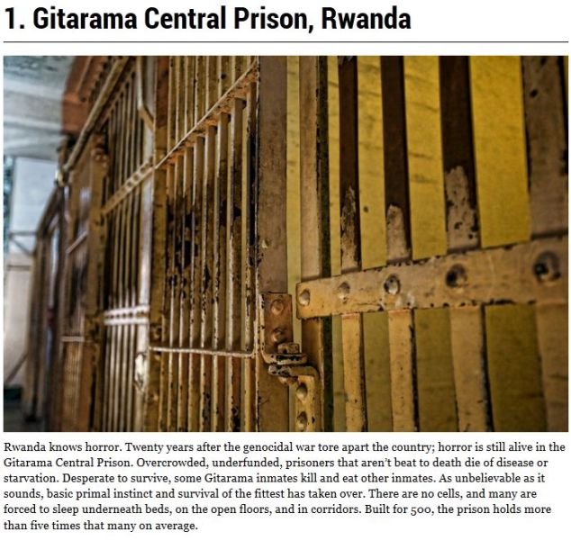 The Most Violent and Dangerous Prisons Worldwide