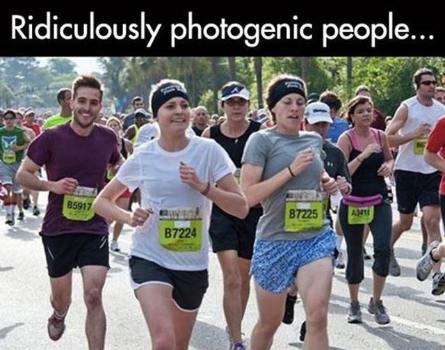 Photogenic People Just Make Me Sick