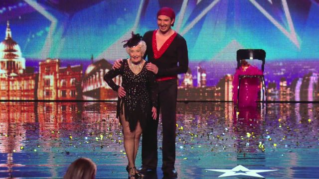 79-Year-Old Grandma Wows the Judges of Britain
