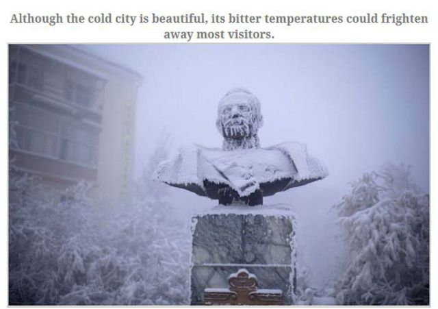 A Place So Cold You Won't Believe People Live Here