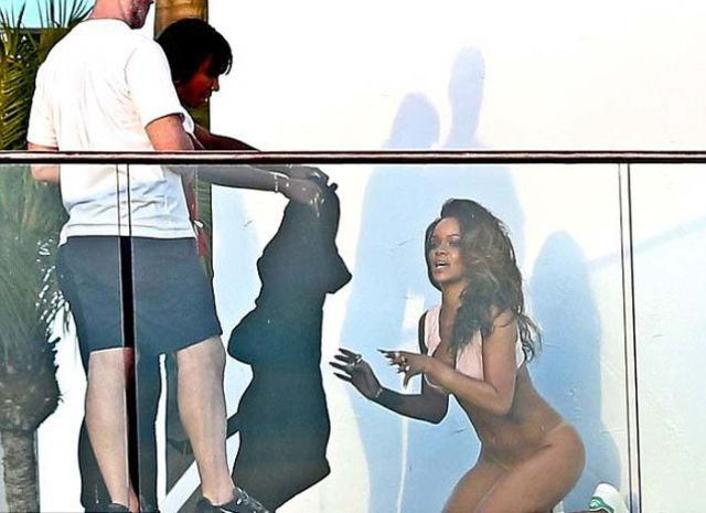 Rihanna's Raunchy Ass-Bearing Photoshoot