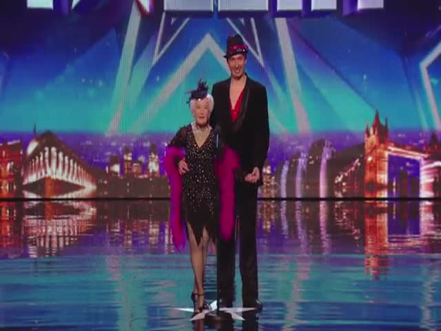 79-Year-Old Grandma Wows the Judges of Britain's Got Talent