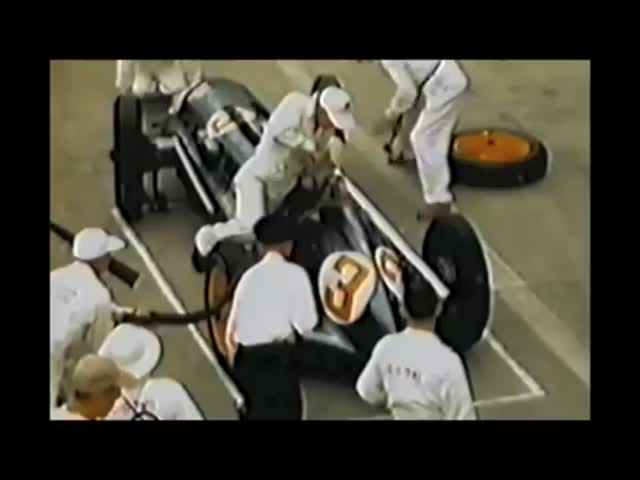F1 Pit Stops - 1950 vs Today