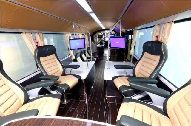 A Luxury Passenger Trolley for Saudi Arabian Royalty
