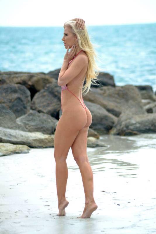 Brazilian Model Leaves Nothing to the Imagination in Bikini Photoshoot