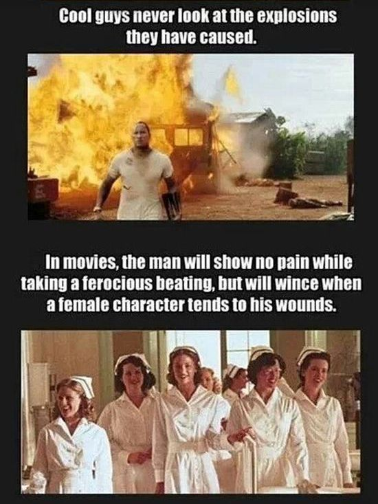 Illogical Things That Always Happen in Movies