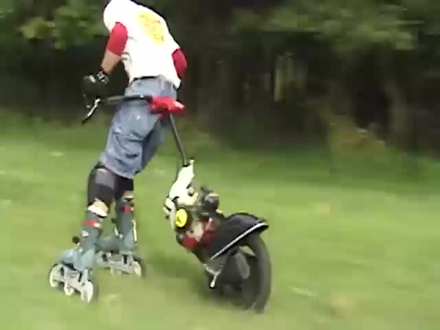 This Looks Dangerously Fun!  (VIDEO)
