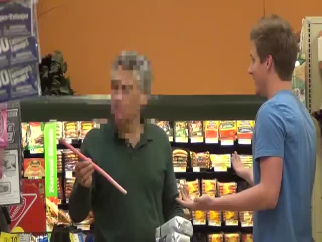 Pulling Things from People's Hair Prank