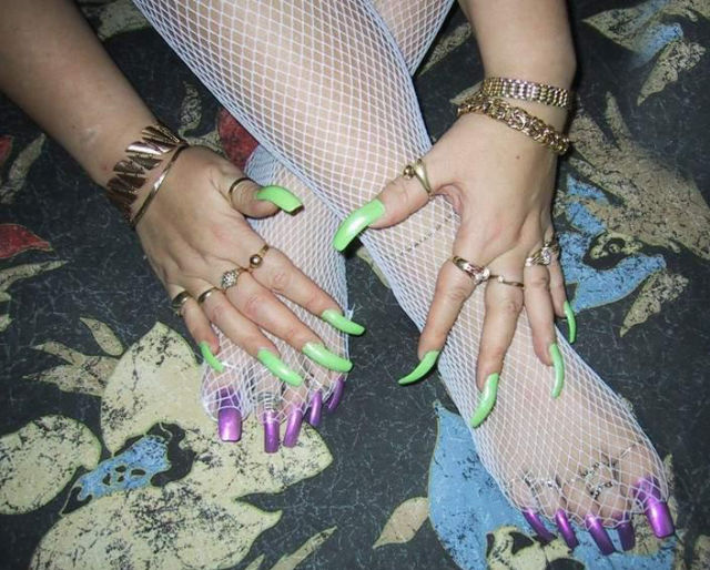 These Extra-Long Nails Are Almost Too Much to Handle