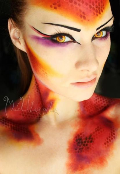 Makeup Word: Out-of-this-world Fantasy Makeup Art (30 Pics)