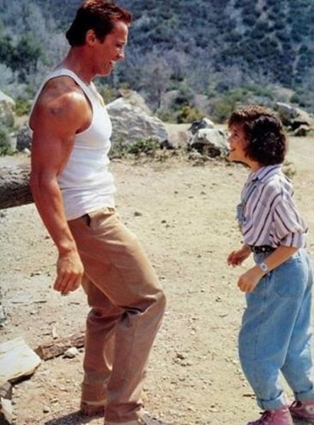Arnold Schwarzenegger and Alyssa Milano Have Changed a Bit over the Years