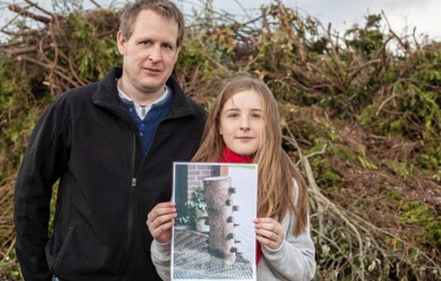 Girls Potentially Save Lives by Finding Easter Bonfire Trap