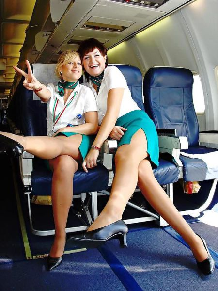 Flight Attendants Show Their Sultry And Sexy Sides 33 Pics - Izismilecom-5769