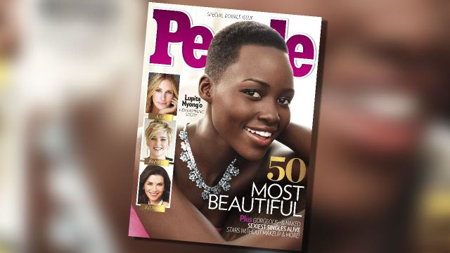 "People Magazine's Newly Crowned ""Most Beautiful Woman in the World"""