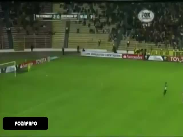 Unusual Figure Seen Running Through a Football Match  (VIDEO)