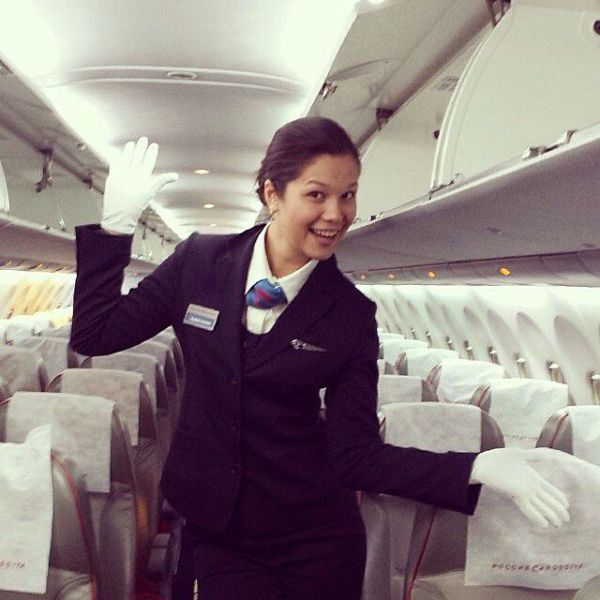 Russian Flight Attendants Who You Will Be Happy to Meet in the Air