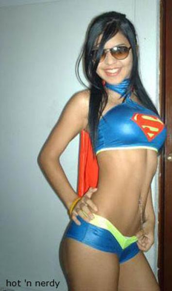 Sweet Girls Looking Sexy in Superhero Undies