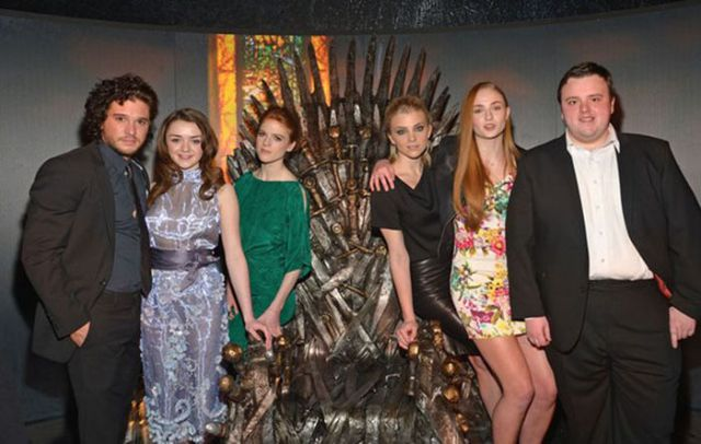 "Fun and Games with the ""Game of Thrones"" Cast"