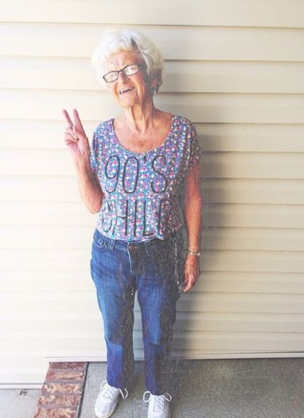 This Badass Grandma Is Cooler Than Some Teens