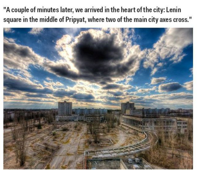 What Chernobyl Looks Like 28 Years Later