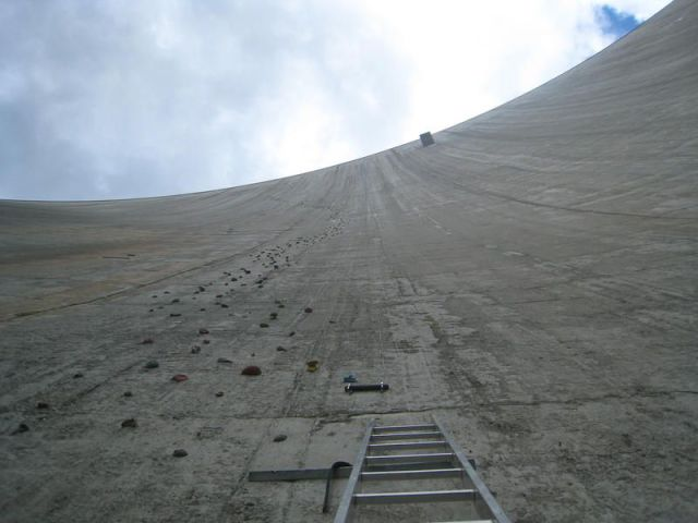 The Largest Manmade Climbing Wall in the World