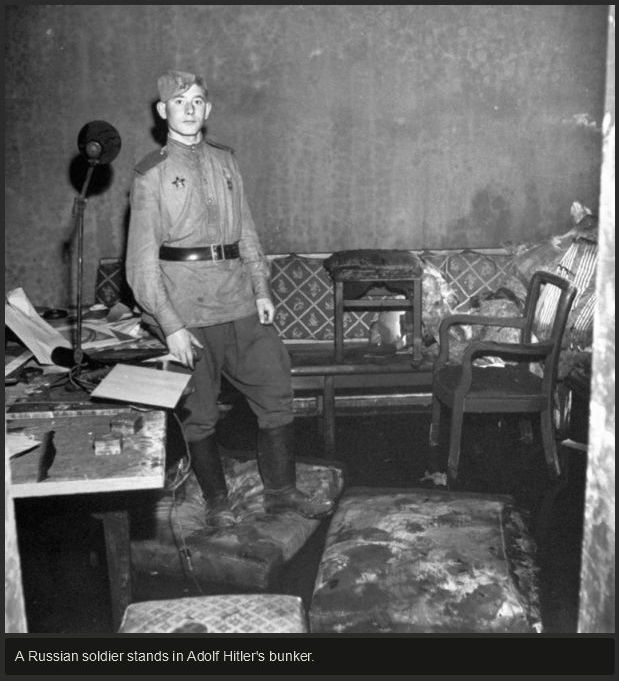Eerie Photos Show the Inside of Hitler's Secret Bunker