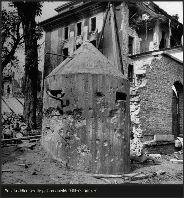 Eerie Photos Show the Inside of Hitler's Secret Bunker