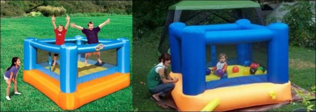Inflatable Pools in Reality vs. the Picture on the Box