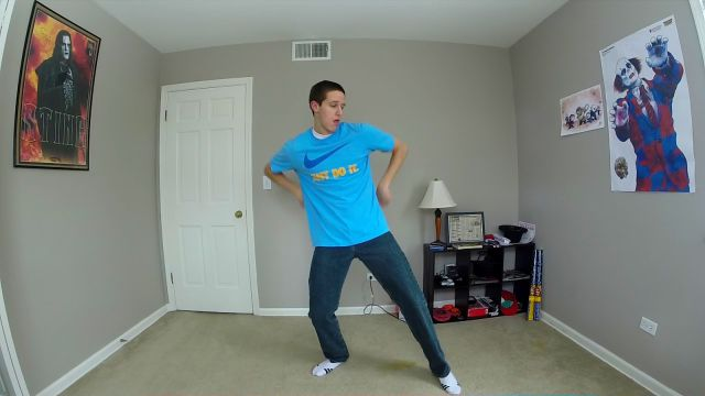 100 Days of Dancing Time-Lapse