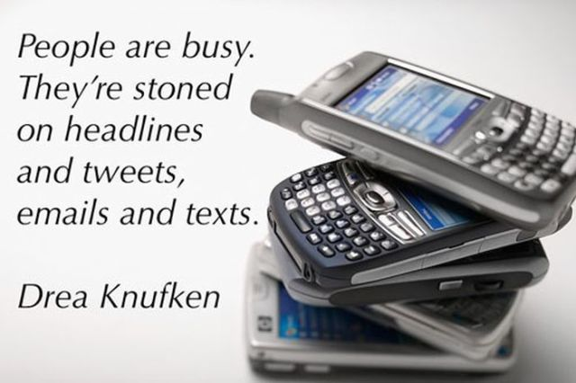 Don't Let Cell Phones Rule Your Life