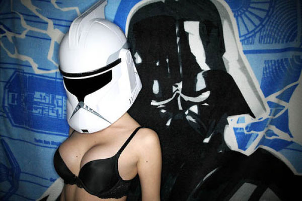 The Force Is with These Sizzling Star Wars Girls