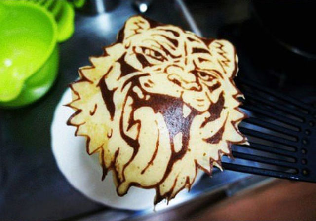 A Pancake That Is Too Cool to Eat