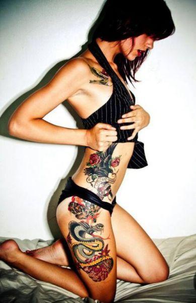 Beautiful Tats on Beautiful Girls