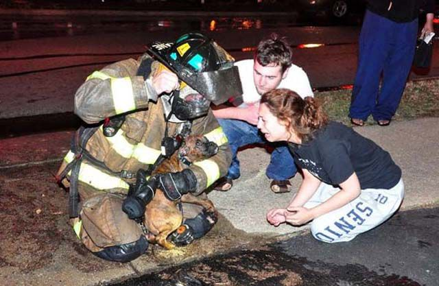 Firefighters Go the Extra Mile to Help People