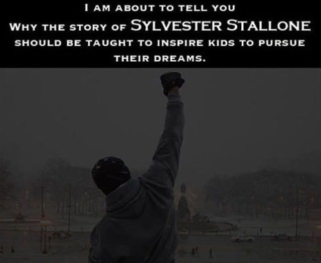 Sylvester Stallone's Real-Life Rags to Riches Story