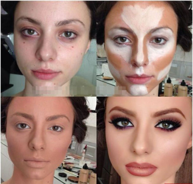 Unbelievable Makeup Transformations